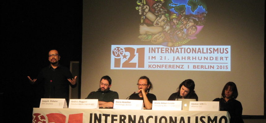 MST participa de conferência sobre internacionalismo no século 21