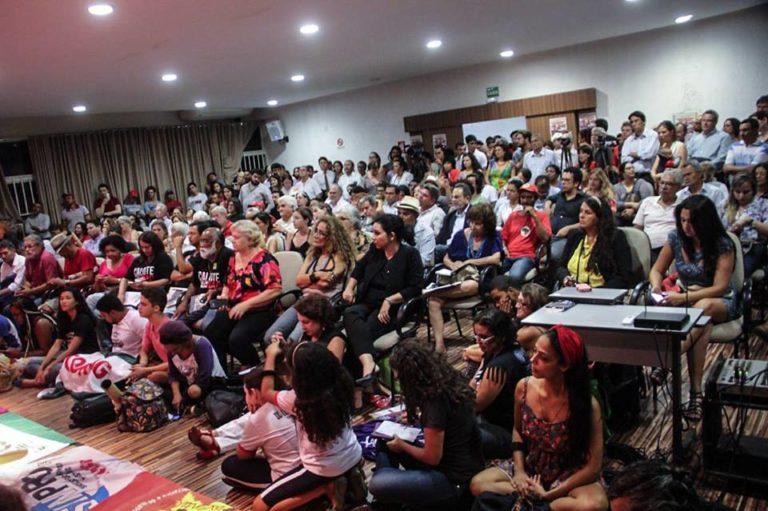 Frente Brasil Popular é lançada no DF e define calendário de mobilizações