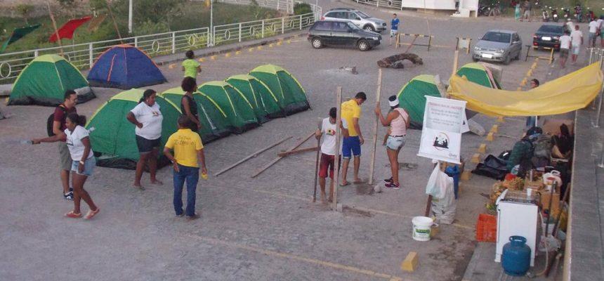 Alunos ocupam a UFRB em protesto contra a retirada de direitos estudantis