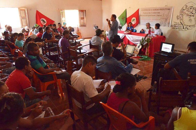 Sem Terra se preparam para o Encontro Estadual do MST no Maranhão