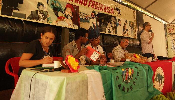No Mato Grosso do Sul, MST homenageia Egídio em seu 30°Encontro