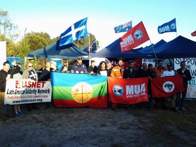 Organizações populares prestam solidariedade aos trabalhadores australianos em greve