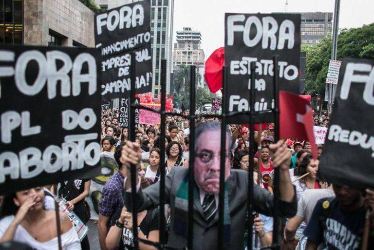 vamos às ruas contra o golpe e o ajuste fiscal