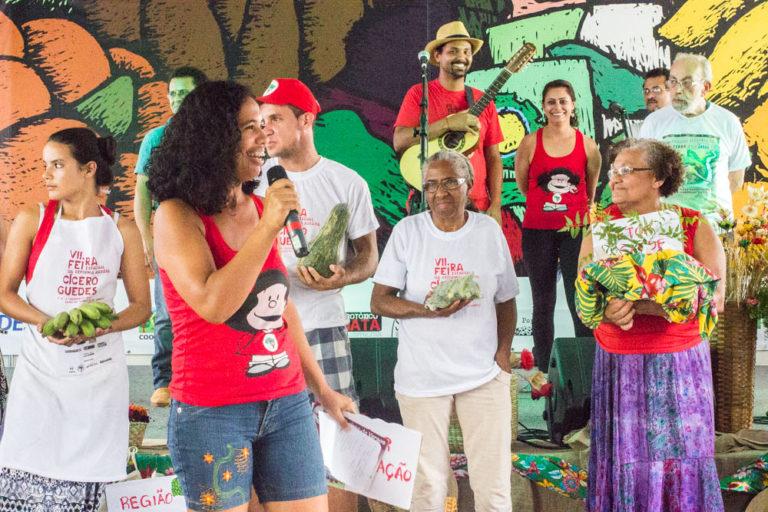 Feira da Reforma Agrária leva produtos saudáveis ao Largo da Carioca