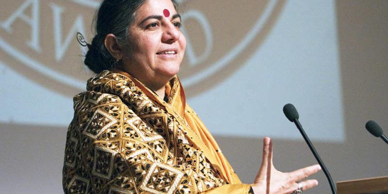 Vandana Shiva debate soberania alimentar em encontro virtual no dia 16