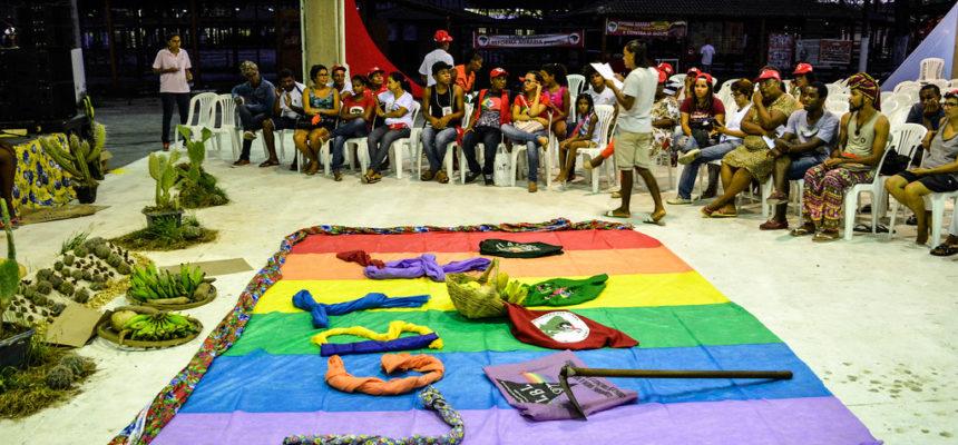 Formação e a luta são desafios apontados pelos LGBT Sem Terra