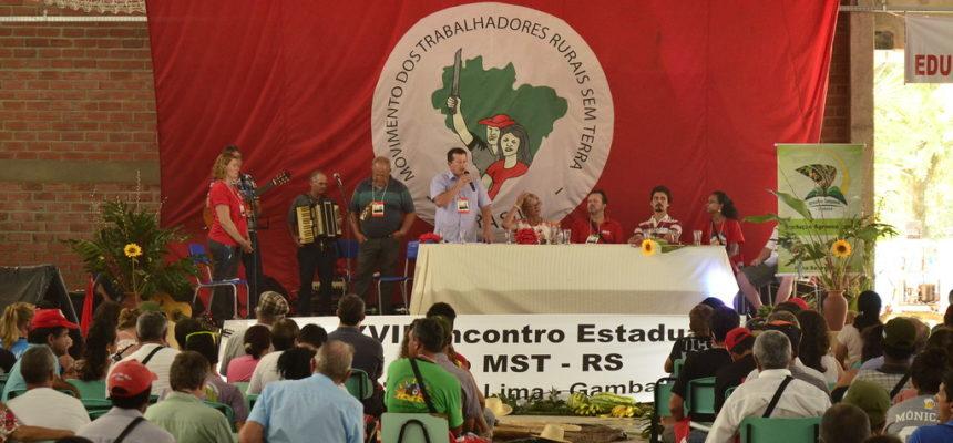 Encontro estadual reúne mil trabalhadores sem terra no RS