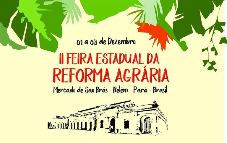 Camponeses do MST no Pará realizam II Feira da Reforma Agrária