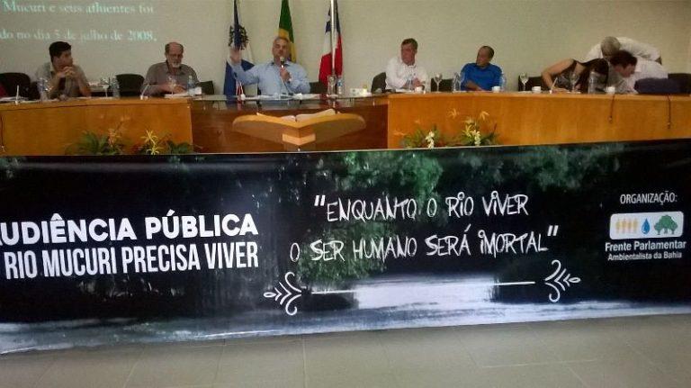 Trabalhadores denunciam os impactos ambientais provocados pela Suzano no Rio Mucuri