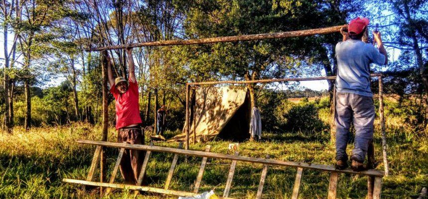 No Paraná, MST reocupa área que sofreu despejo em junho desse ano