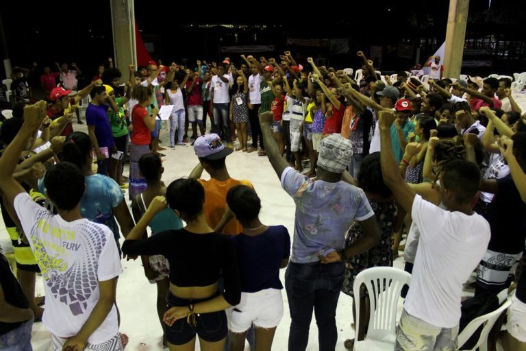 Unidade popular marca a 1º Assembleia Estadual Juventude Sem Terra