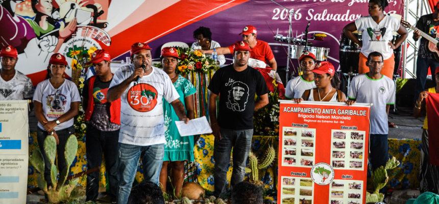 Sem Terra lançam campanha contra agrotóxicos e em defesa da vida