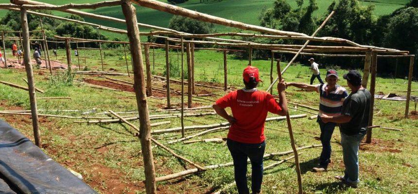 Dois acampamentos são realocados em Santa Catarina