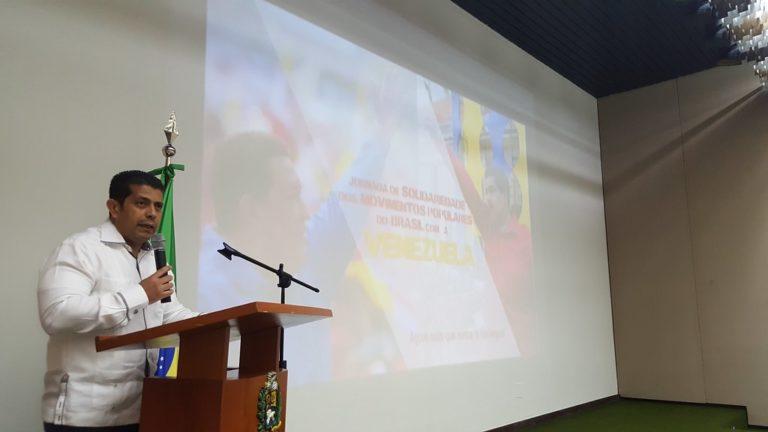 Organizações sociais realizam Jornada de Solidariedade com a Venezuela