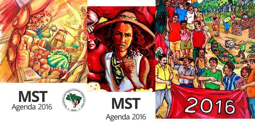 MST lança agendas 2016