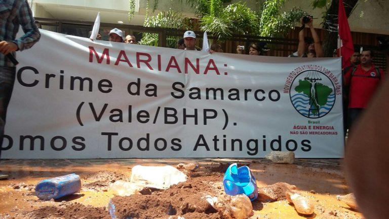 MST e MAB protestam contra a Vale no Rio de Janeiro