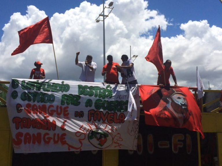 Movimentos e organizações populares realizam protestos em toda Bahia