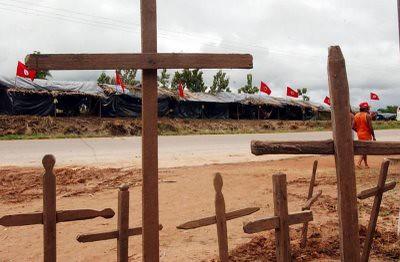23 anos de assassinato do Sem Terra Diniz Bento da Silva, o Teixeirinha