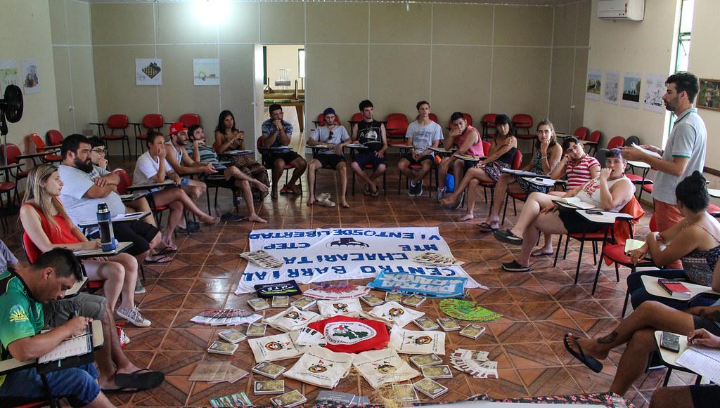 Intuito do intercâmbio éé conhecer organizações populares do Brasil. Foto Catiana de Medeiros.jpg