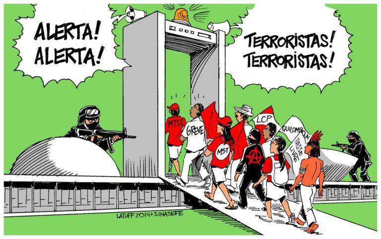 MST repudia Lei antiterrorismo e exige o veto completo do projeto