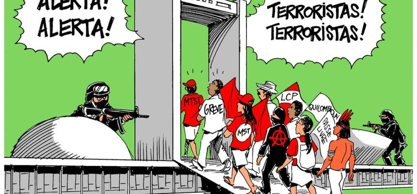 Em nota, MST repudia Lei antiterrorismo e exige o veto completo do projeto