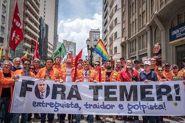 Centrais marcam novo protesto contra reforma da Previdência