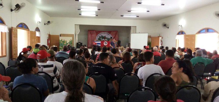 Sem Terra se reúnem no 29º encontro estadual em São Paulo