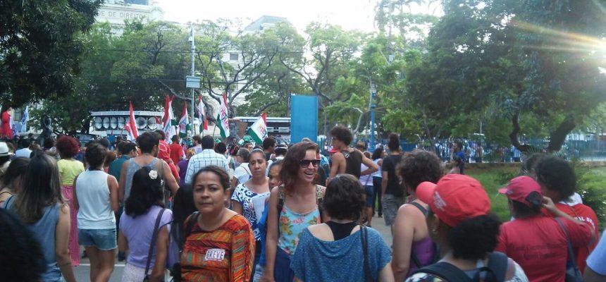 No Pernambuco, as mulheres realizaram várias ações em todo o estado