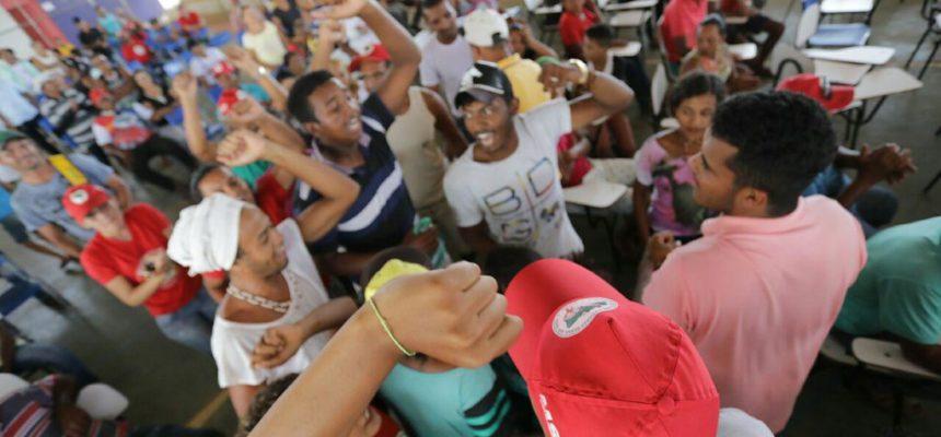 Na Bahia, encontros regionais preparam militância para 30º Encontro Estadual do MST
