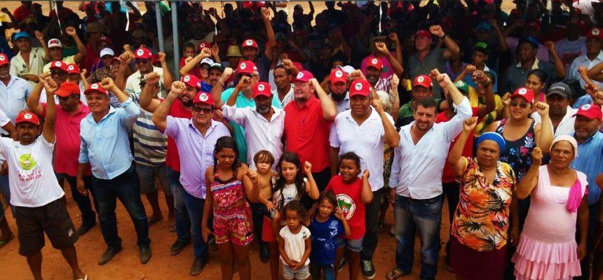 Famílias Sem terra de Sergipe e Bahia festejam imissão de posse