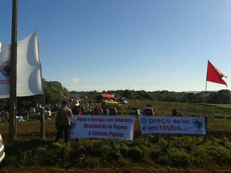 MST e MAB tratam sobre ocupação de fazenda em Lagoa Vermelha