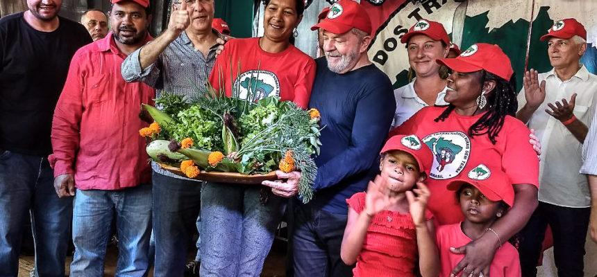 Visita ao MST afirma Minas Gerais como base de resistência para eleição de Lula
