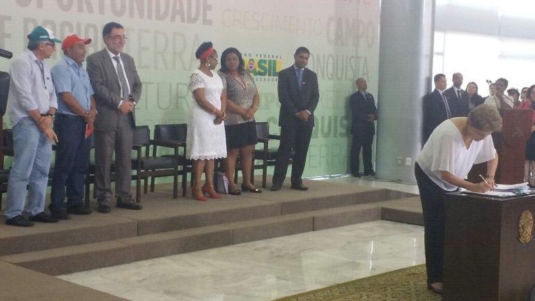 5 mil hectares de terras para a Reforma Agrária