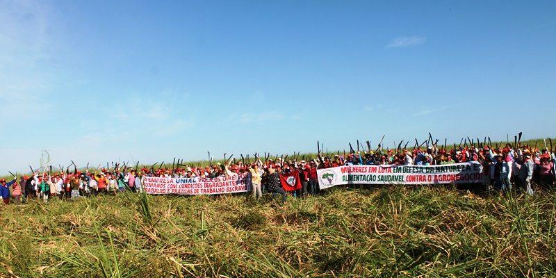 Na Bahia, mais de 8 mil trabalhadoras se mobilizam contra o agronegócio e em defesa da democracia