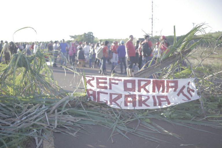 Sem Terra ocupam fazenda Martinópólis em São Paulo