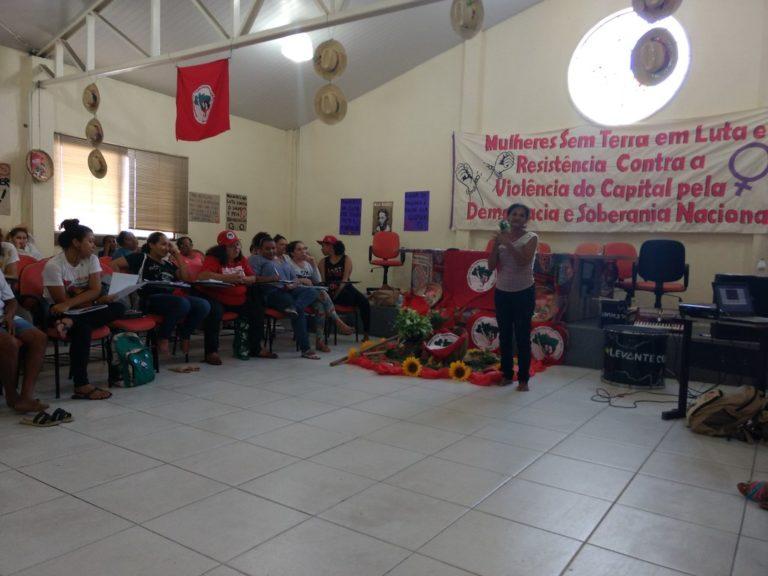 Mulheres Sem terra realizam encontro estadual no Ceará
