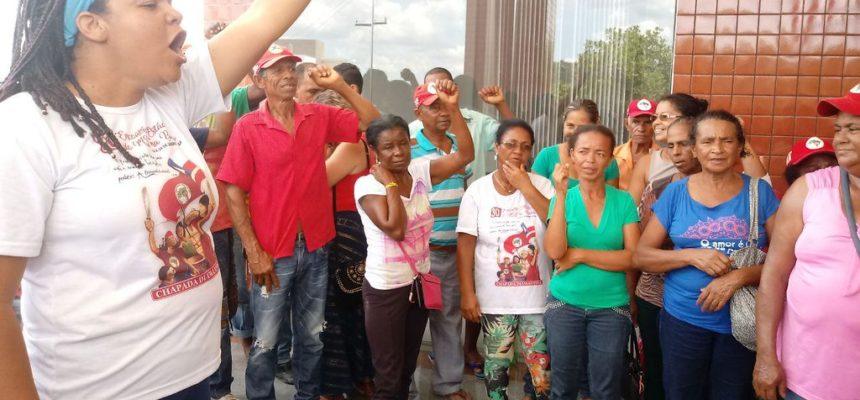 Em Jornada de Luta, trabalhadoras Sem Terra ocupam prefeitura de Boa Vista do Tupim