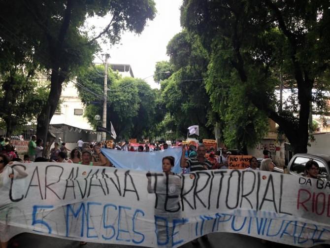 Caravana Territorial do Rio Doce cobra participação social e transparência à Samarco em Governador Valadares (MG)