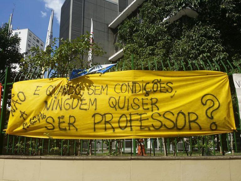 MST manifesta solidariedade com professores e servidores municipais de São Paulo