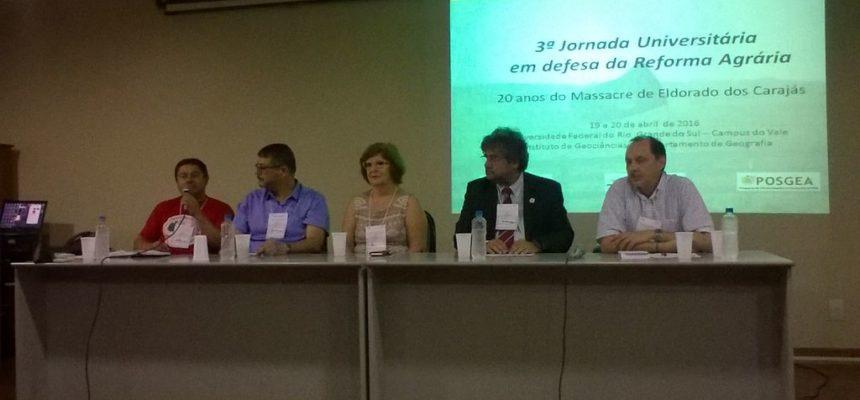 Massacre de Eldorado dos Carajás é relembrado pela UFRGS, no RS