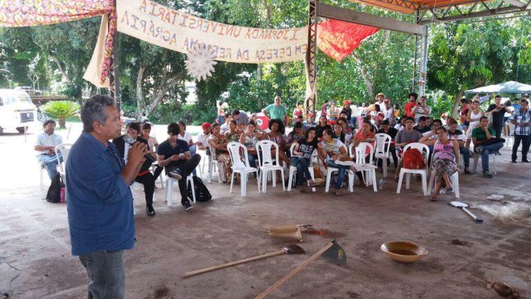 I Jornada Universitária debate a Reforma Agrária na Amazônia