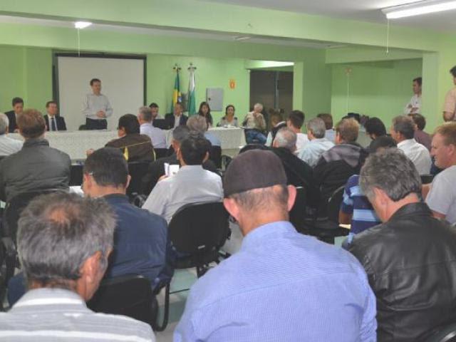 Audiência pública discute ICMS ecológico em assentamentos no Paraná