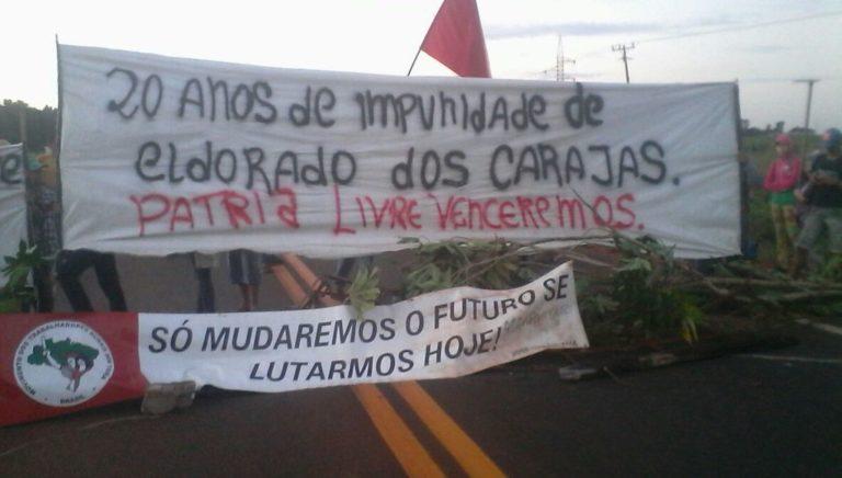 MST bloqueia principais rodovias do Mato Grosso do Sul