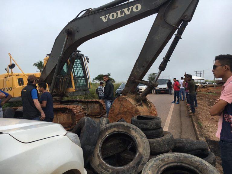 Clima de tensão continua em acampamento no Pará