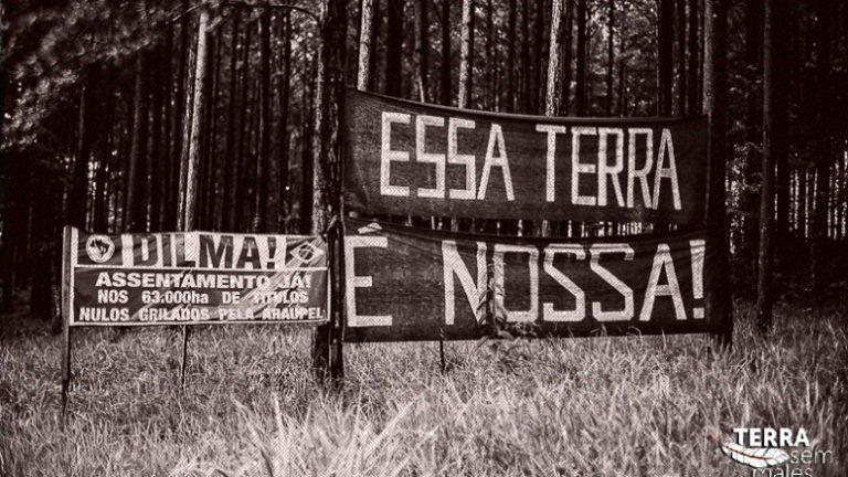 MST realiza ato nacional em Quedas do Iguaçu-PR
