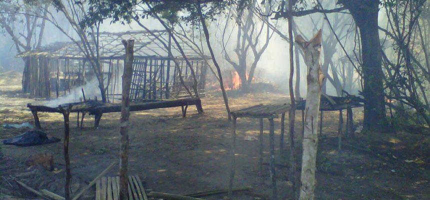 Acampamento Padre Josimo é destruído pela polícia no Bico do Papagaio