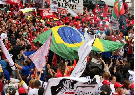 Frente Brasil Popular organiza Ato em Defesa de Democracia e Contra o Golpe