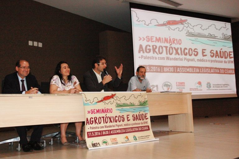 Seminário debate riscos da utilização de agrotóxicos no Ceará