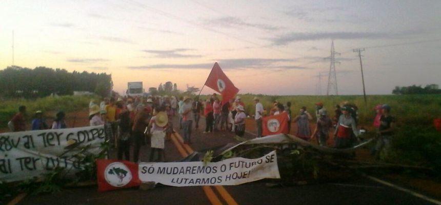 No Mato Grosso, mais de 1000 Sem Terra mobilizam-se pela Reforma Agrária