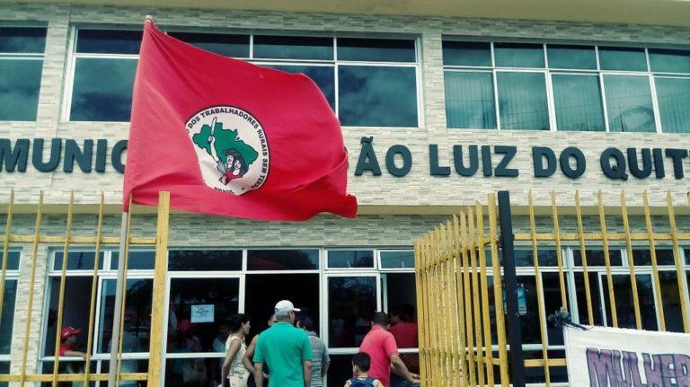 MST ocupa prefeituras em todas as regiões de Alagoas